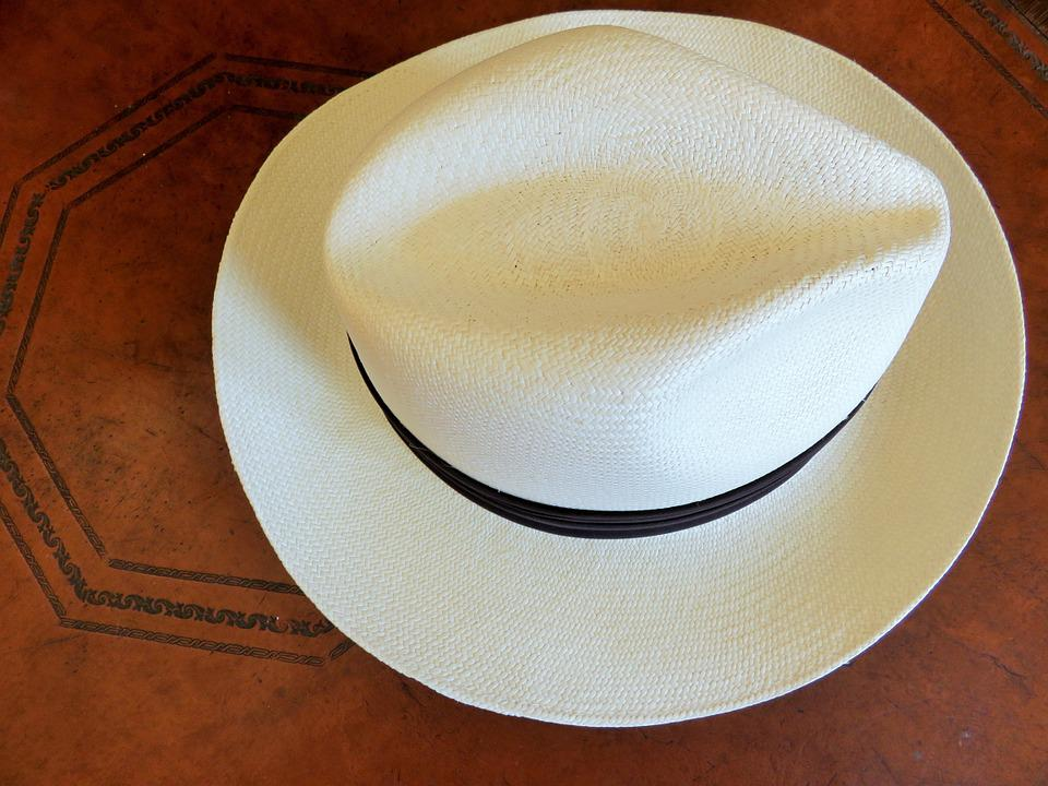 mens wide brim beach hat