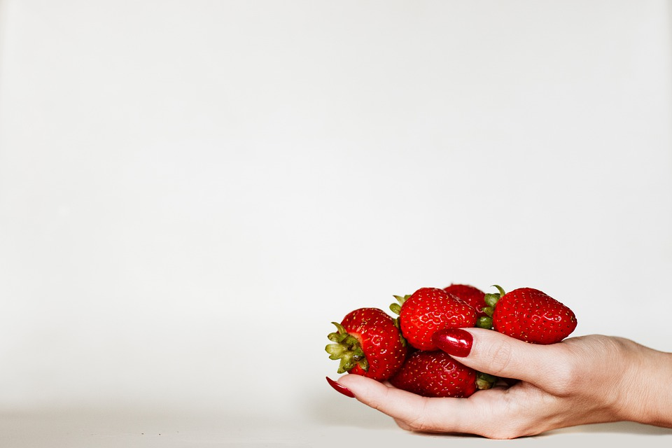 Strawberries, Fruit, Food, Nails, Delicious, Healthy