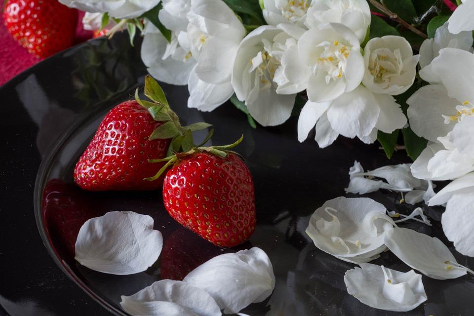 Strawberry, Strawberries, Fruit, Red, Jasmine