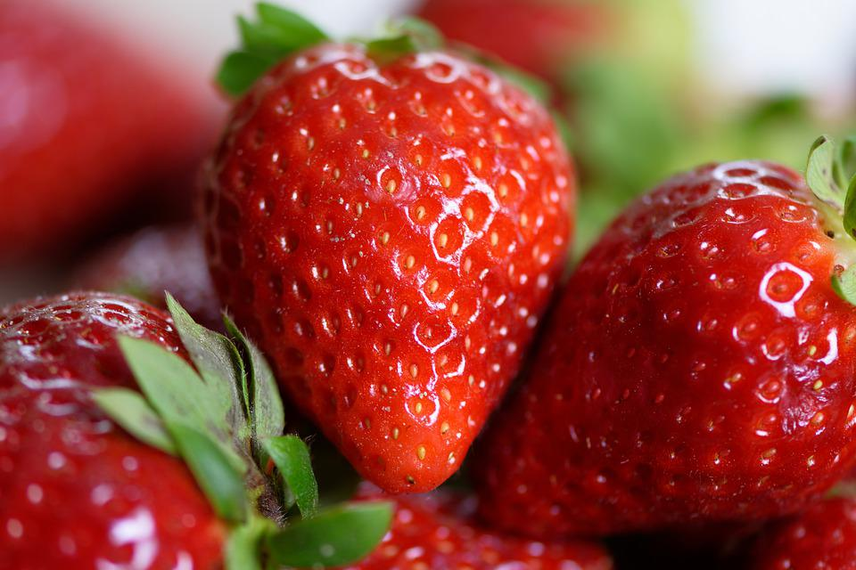 Strawberries, Fruit, Food, Eat, Sweet, Red, Delicious