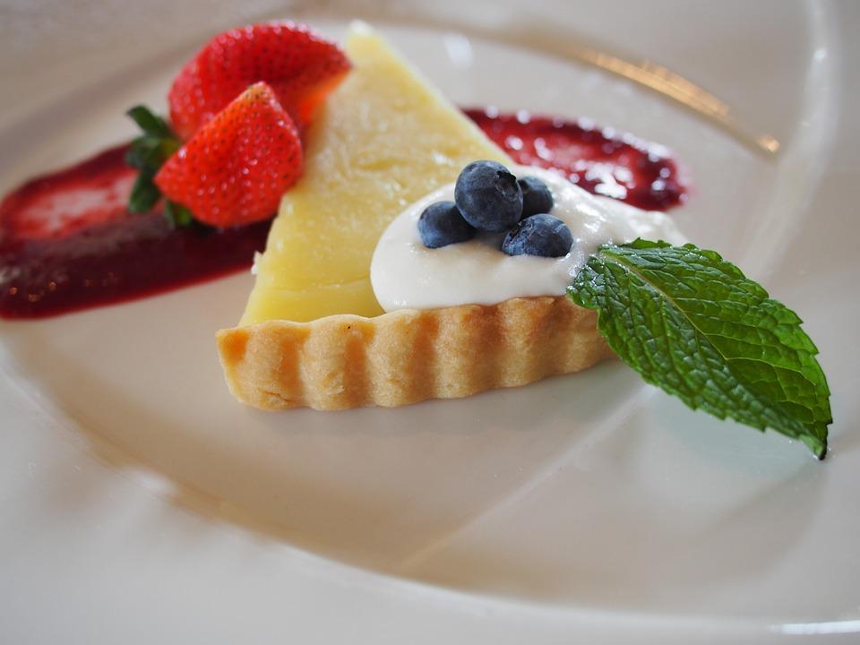 Strawberry, Cake, Dessert, Tart, Sweet