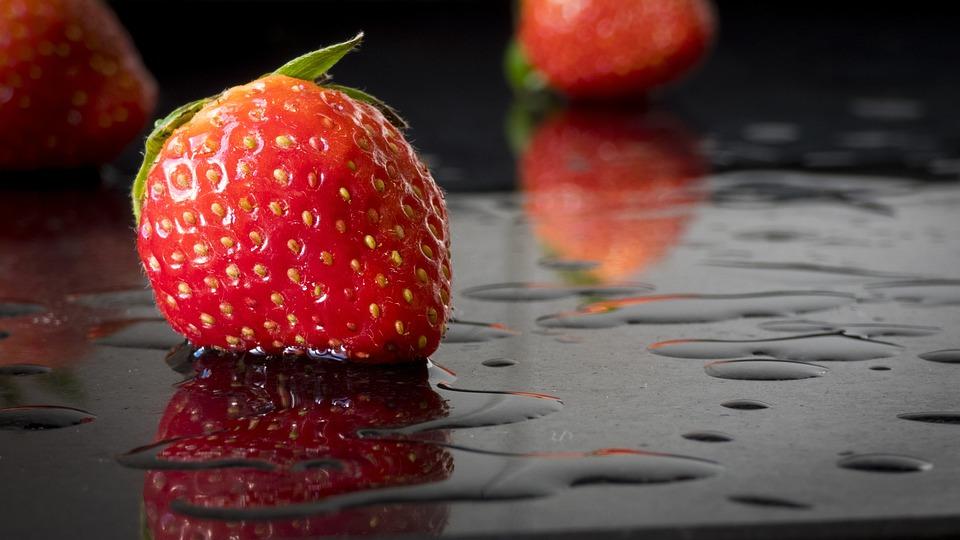 Fruit, Food, Fragaria, Snack, Freshness, Strawberry
