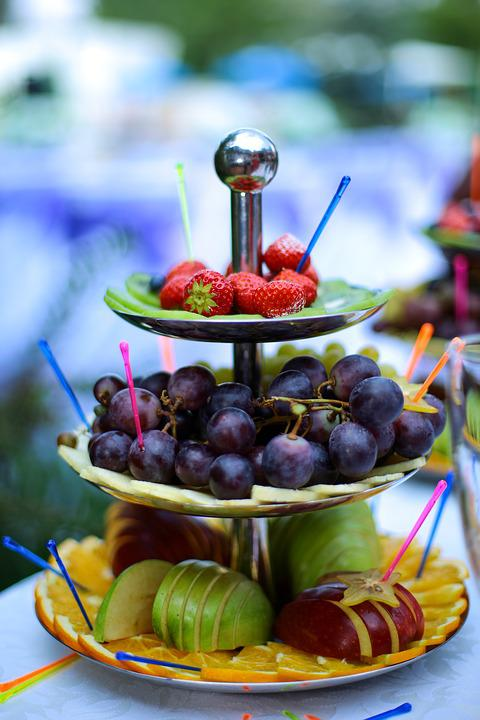 Berry, Fruit, Strawberry, Grapes, Apple, Orange