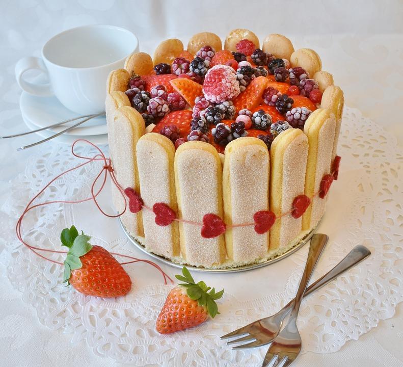 Strawberry Pie, Strawberries Cake, Cake, Bisquit, Bake
