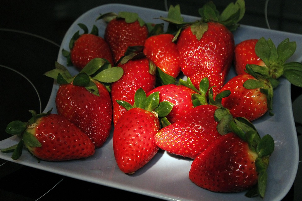 Strawberry, Sweet, Red, Delicious