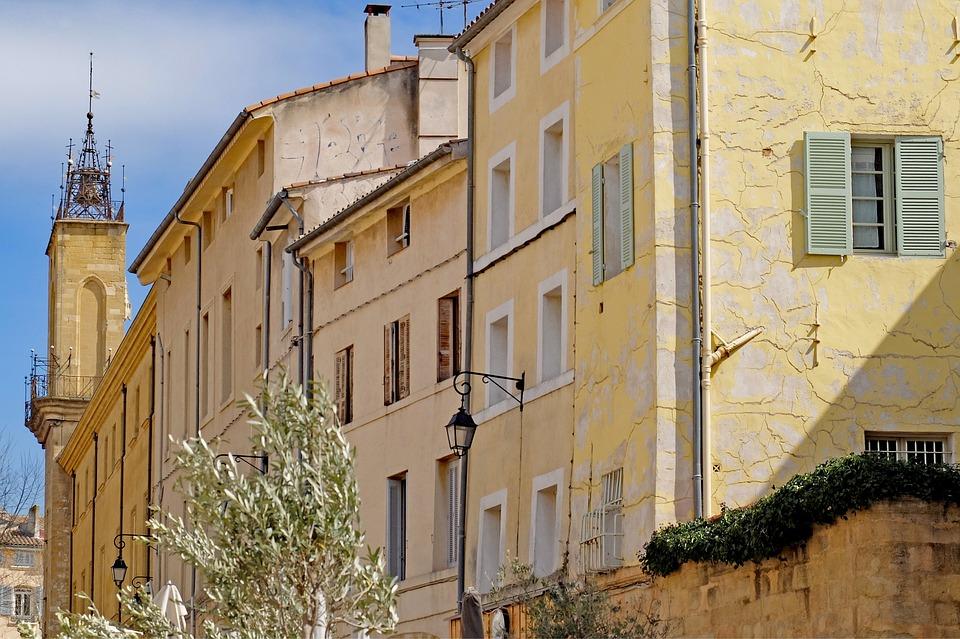 Aix, Aix-en-provence, Architecture, Street, Facade