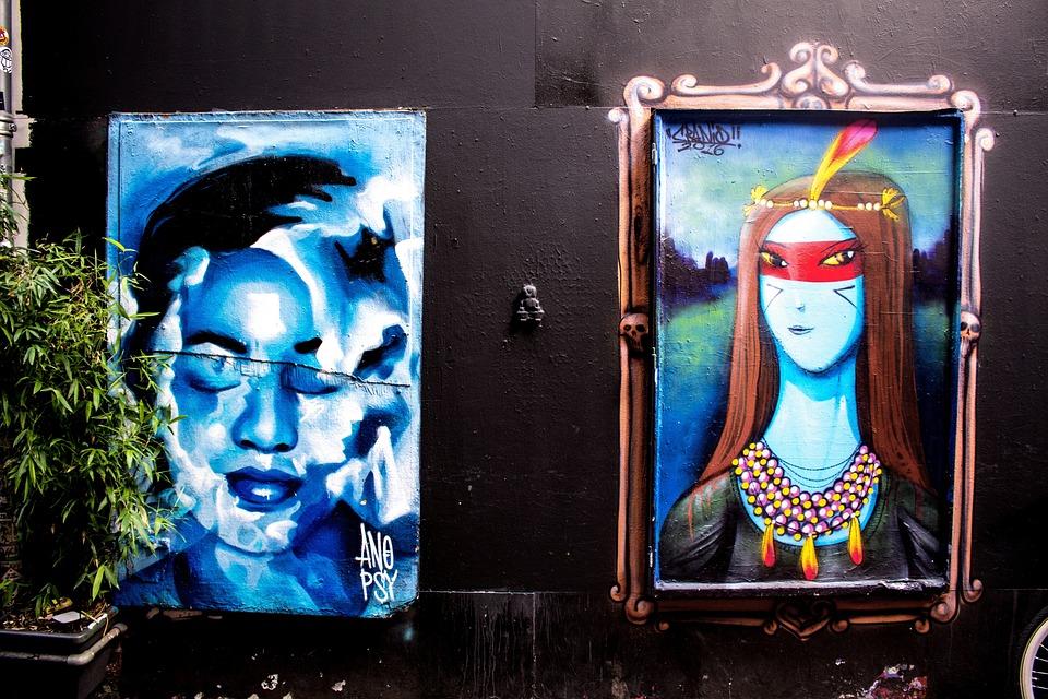 Amsterdam, Street Art, Netherlands, Art, Painting