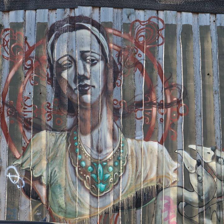 Free photo Street Art Art Graffiti Urban Art Facade Berlin - Max Pixel
