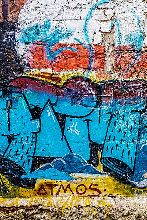 Background, Abstract, Graffiti, Grunge, Street Art