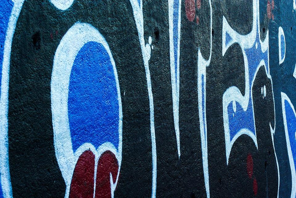 Street Art, Graphics, Grafitti, Mural