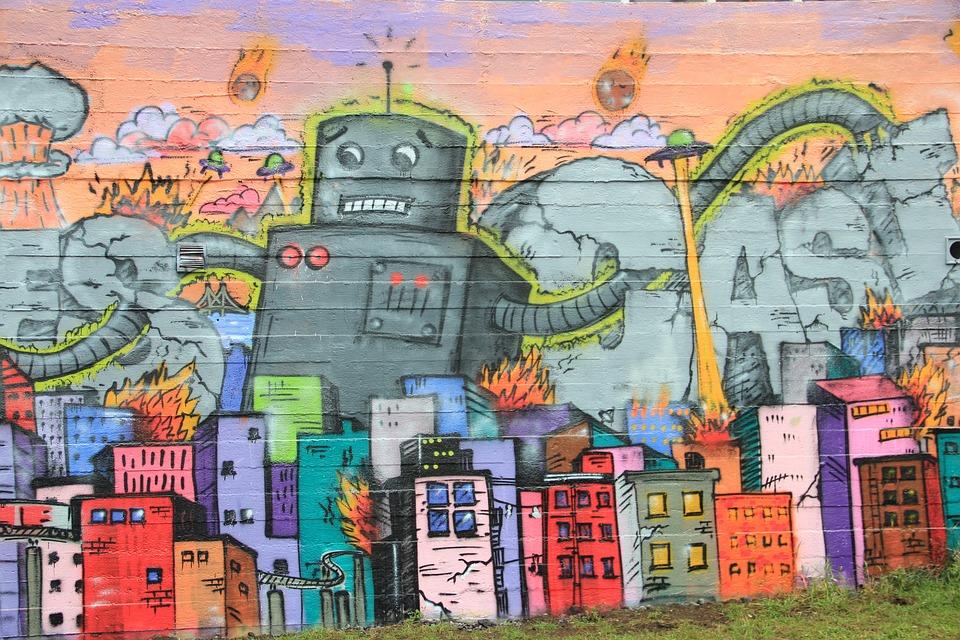 Iceland, Rekiavik, Murals, Wall, Street Art, Graffiti