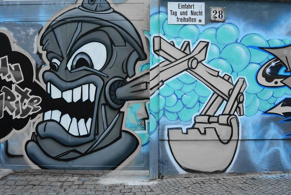 Graffiti Street Art Urban Art Mural Sprayer Wall & Free photo Street Art Sprayer Graffiti Wall Mural Urban Art - Max Pixel