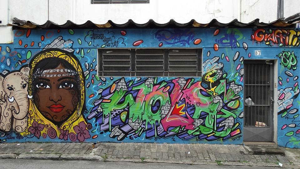 Graphite, Street Art, Urban