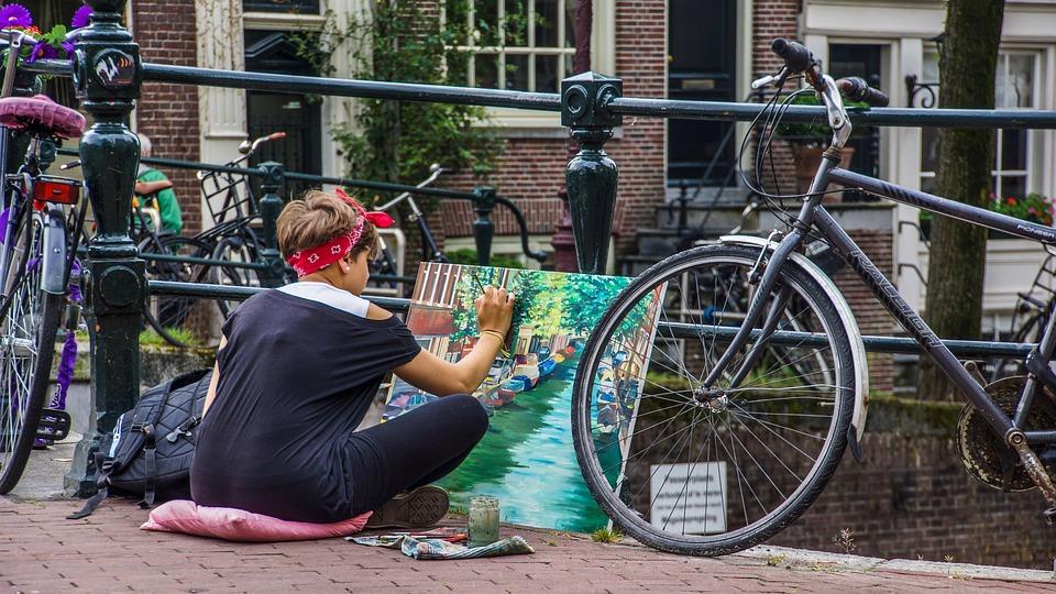 Street Art, Art, Painting, Street Artists, Woman