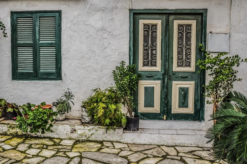 House, Backstreet, Architecture, Street, Village, Vavla