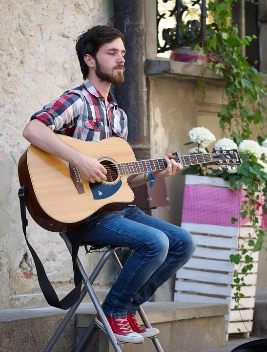 Boy, Young, Beard, Male, Urban, Music, Street, Nice