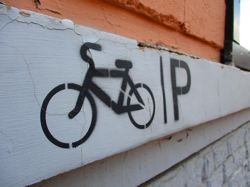 Sign, Bike, Cycling, Graffiti, Symbol, Street, Icon