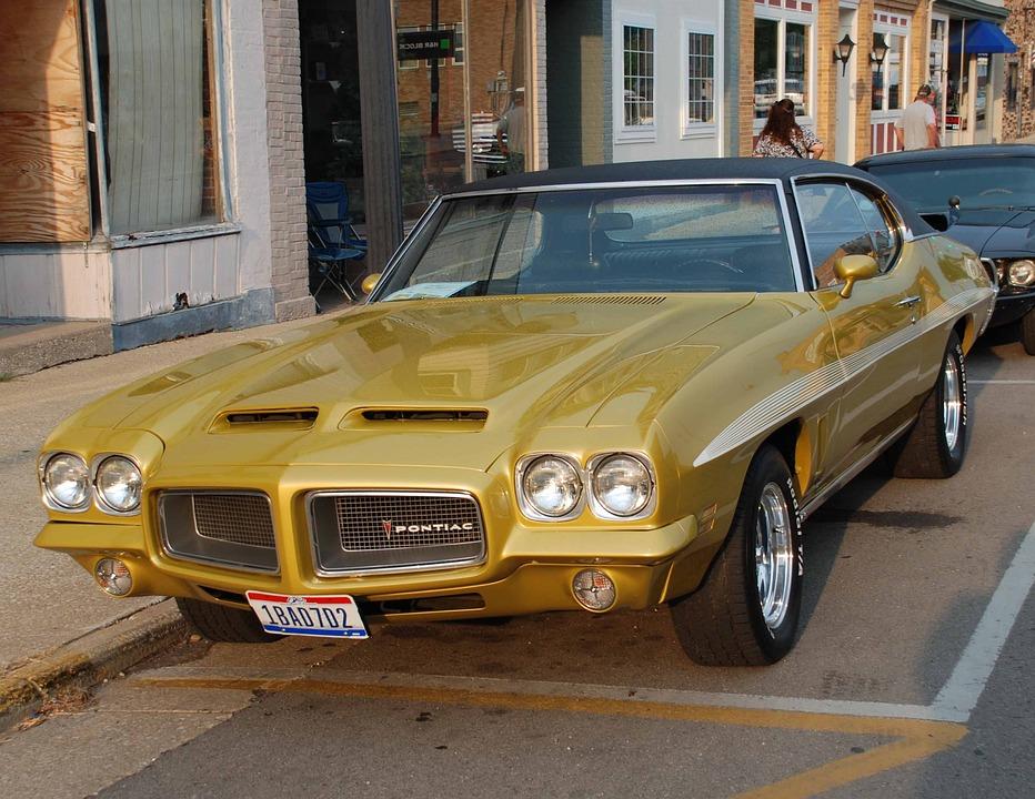 Pontiac, Auto, Retro, Old Trimer, Street Car