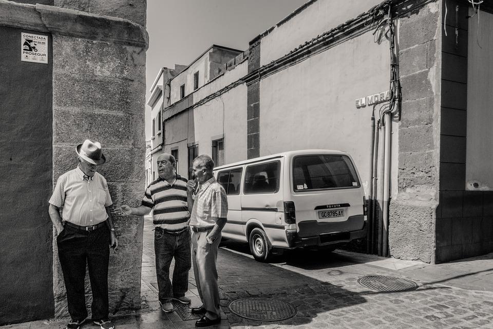 Canary Islands, People, Gáldar, Street, City, Portrait