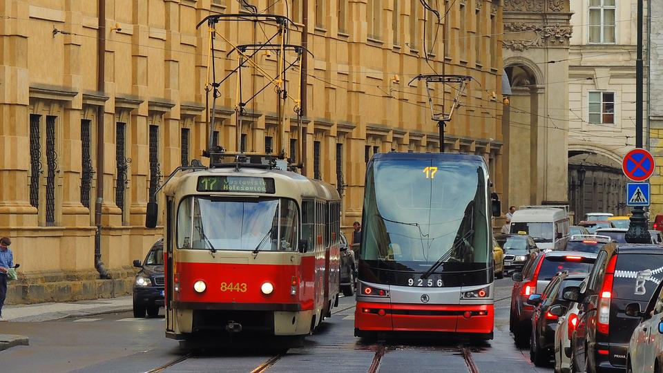 Prague, Tram, City, Czech, Street, Urban, Travel
