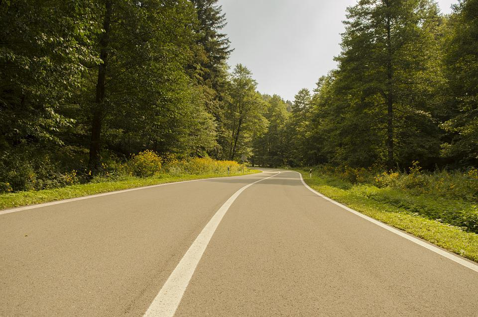 Road, Street, Traffic, Nature, Croatia, Slavonia