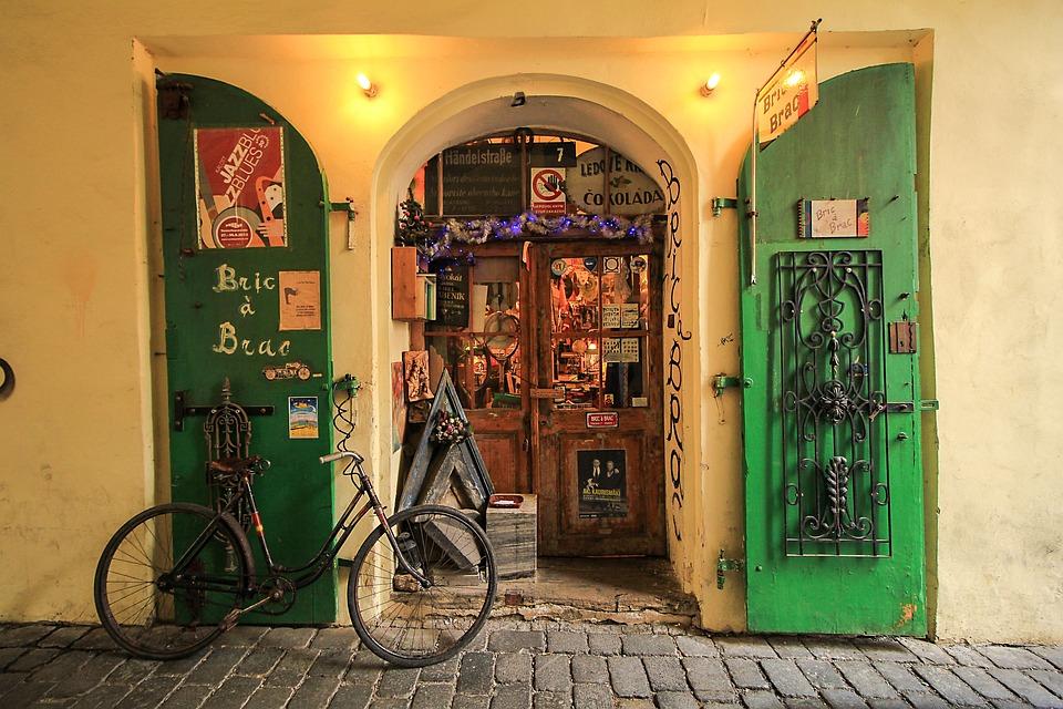 Travel, Architecture, Street, Door, House, City