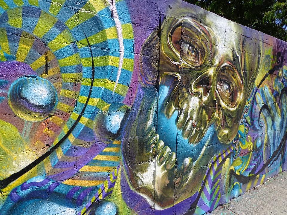 Graffiti, Wall, Color, Street-art, Painting, Street