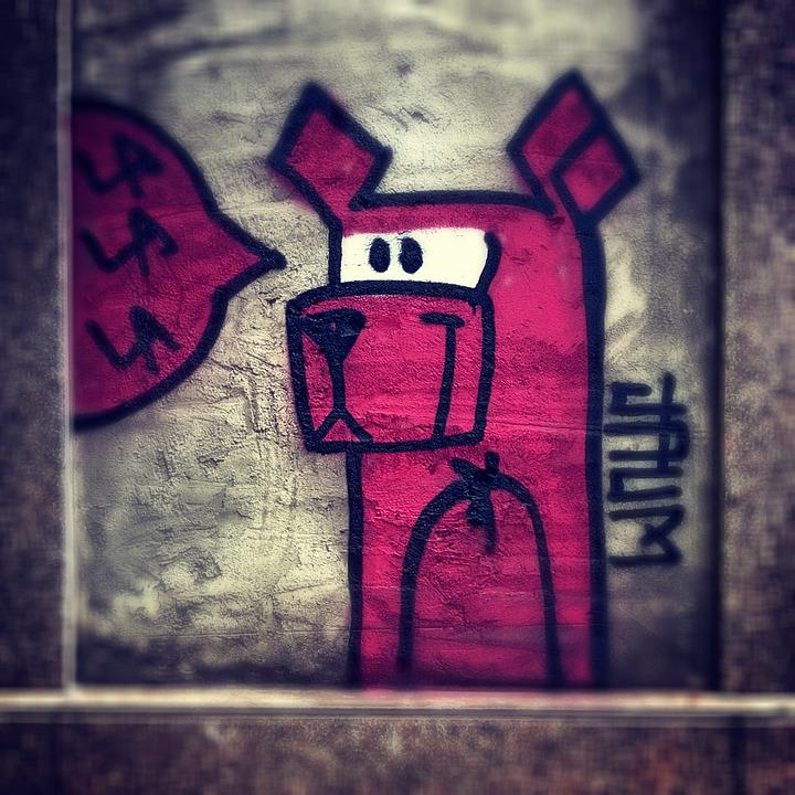 Street Art, Graffiti, Street, Art, Urban, Intervention