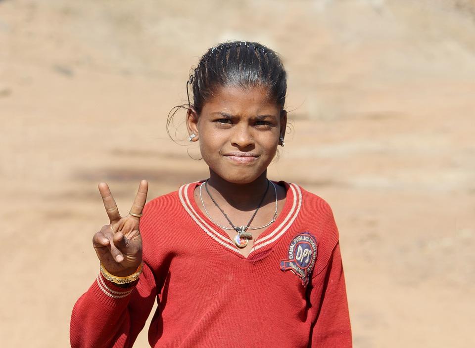 Girl, Village Girl, Poor Girl, Street Kids, Street Girl