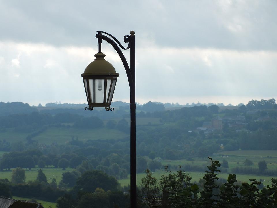 View, Light, Landscape, Air, Street Lamp