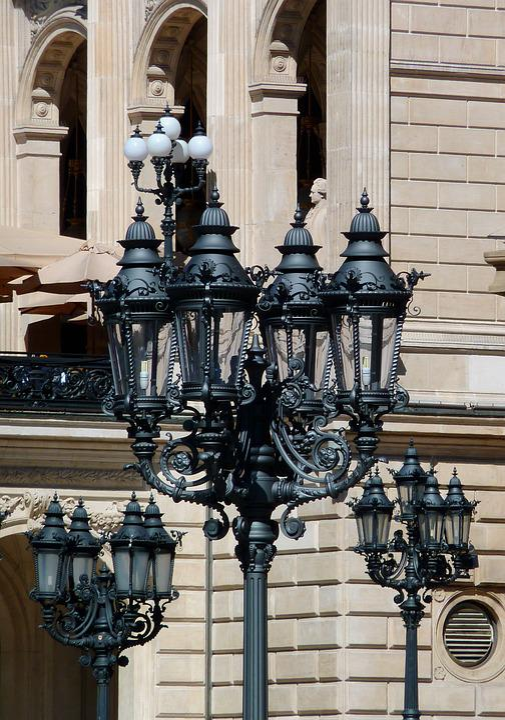 Candlestick, Candelabra, Street Lamp, Mast, Lantern