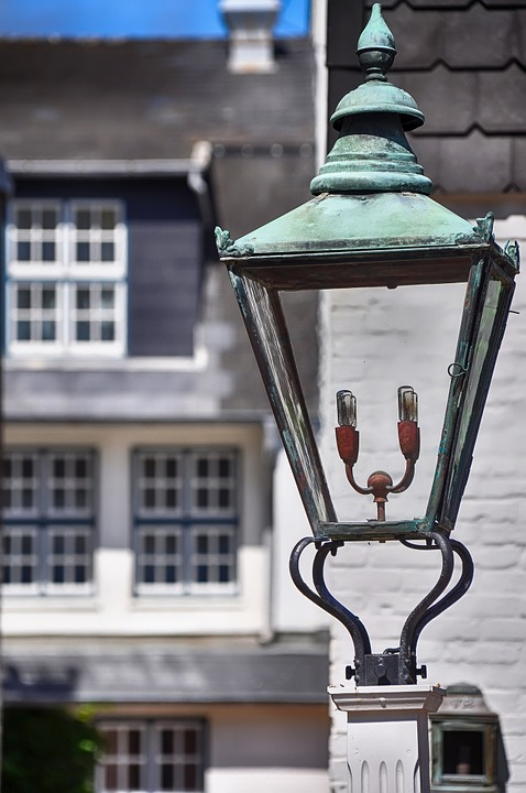Lantern, Street Lamp, Historic Street Lighting