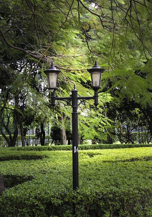 Street Lamp, Park, Lamp