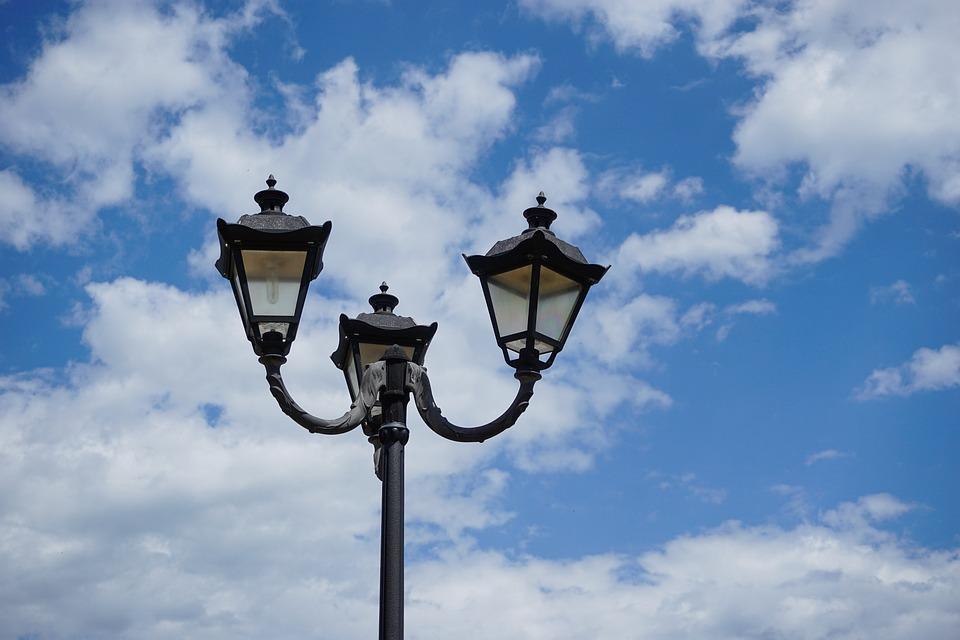 Lantern, Street Lamp, Replacement Lamp, Lighting, Sky