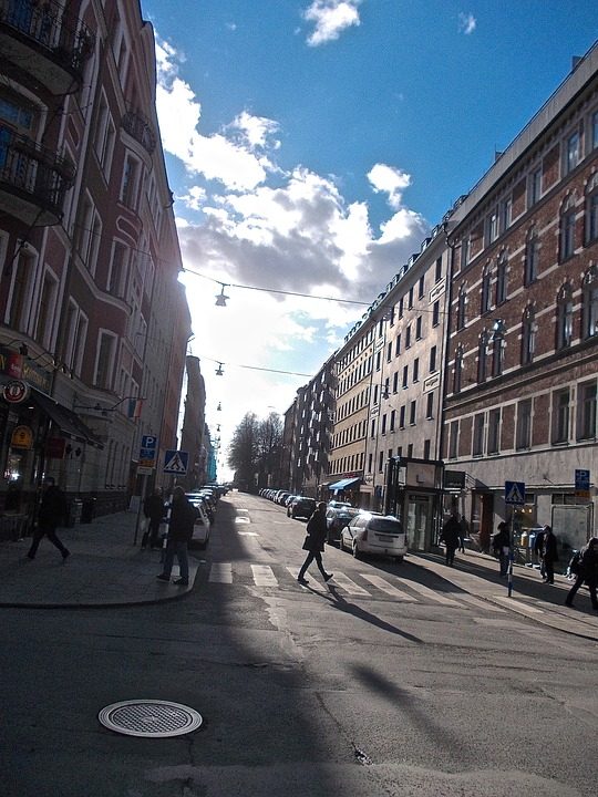Street Life, Facade, Södermalm, Stockholm