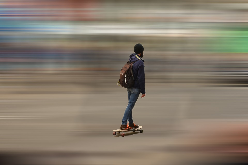 Fast, Blur, Hurry, Motion, Commuting, Action, Street