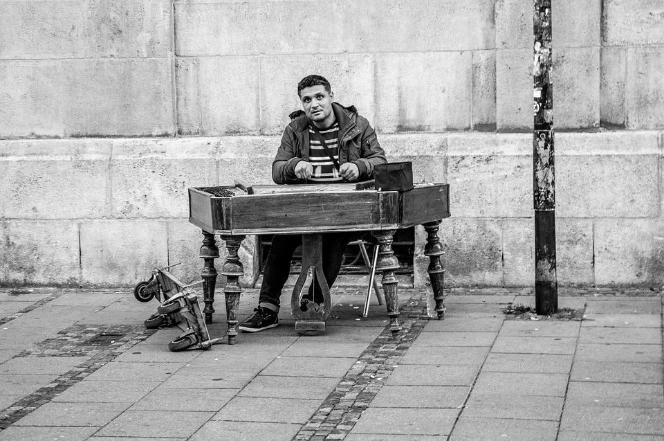 Street Musicians, Street Music, Musician, Dulcimer