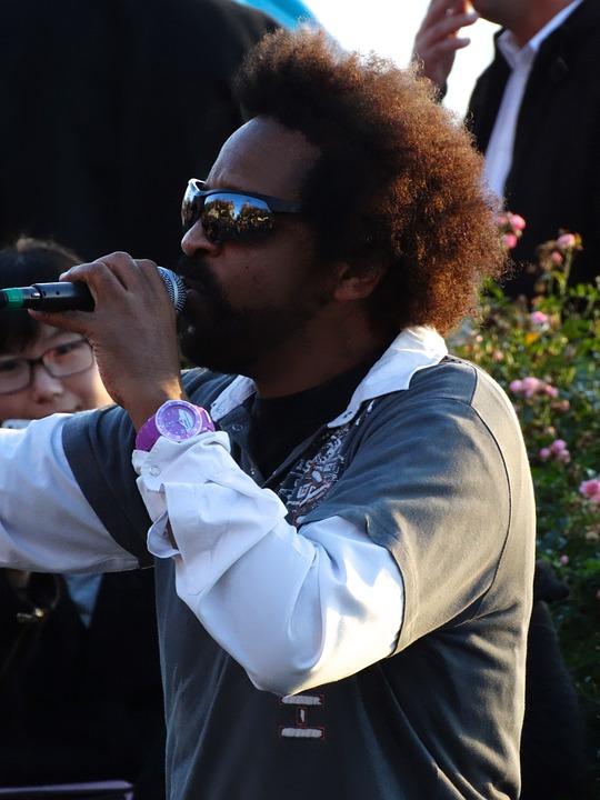 Musician, Singer, Street Musicians, Sing, Microphone