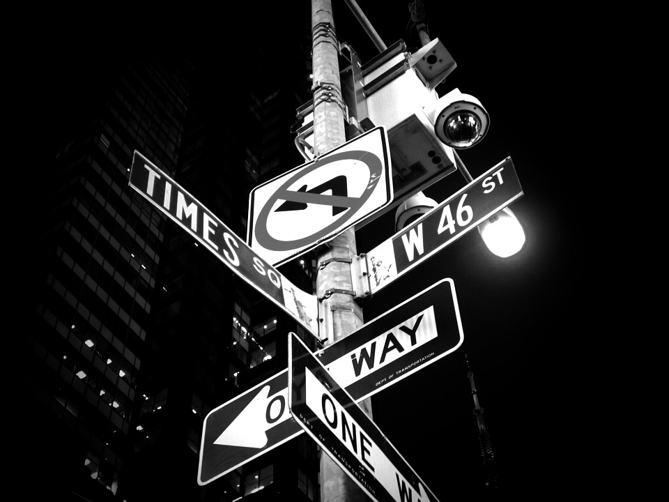 Times Square, New York, Road Signs, Sign, Street, City