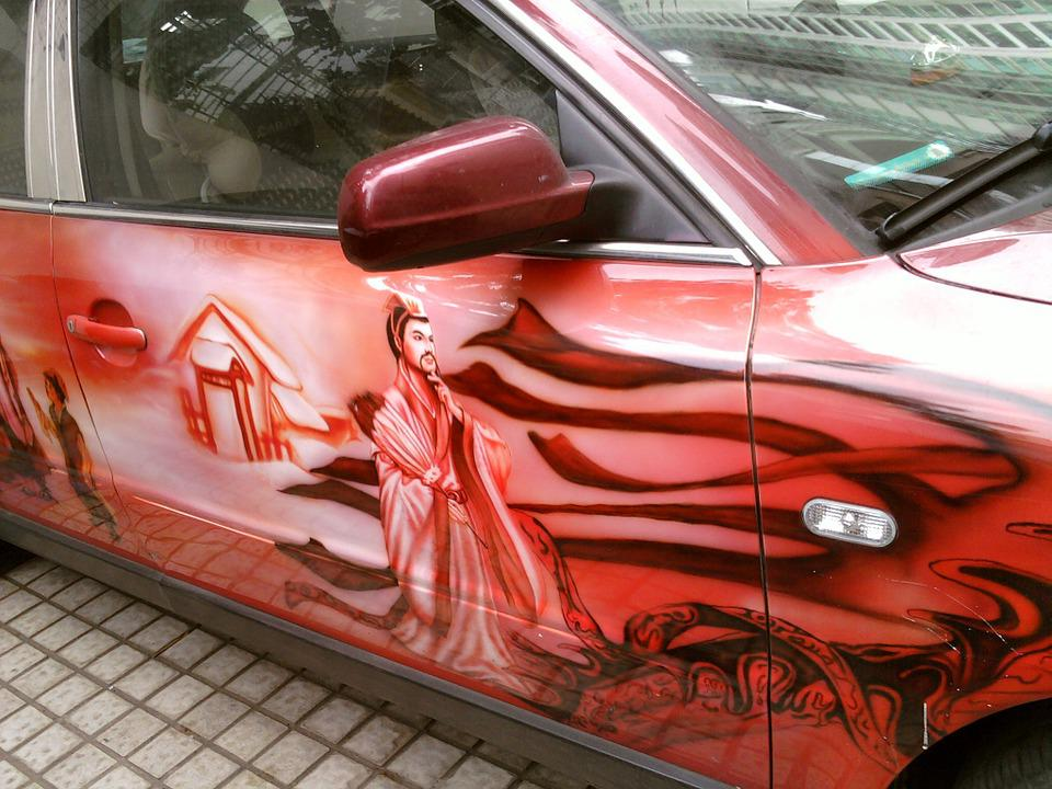 Car Painting, Street Photography, Automotive