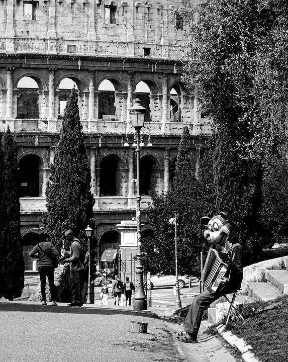 Rome, Lazio, Italy, Colosseum, Street Photography