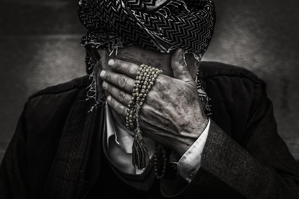 Portrait, People, Street, Male, Person, Hiding Face