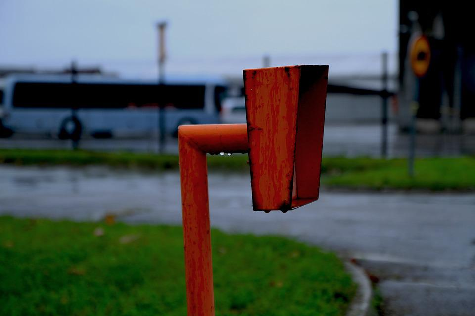 Rain, Bus, Travel, Transport, Road, Street