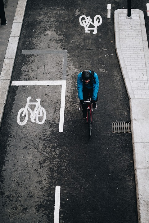 Free photo Street Riding Road Bike Lane Bicycle People Man - Max Pixel