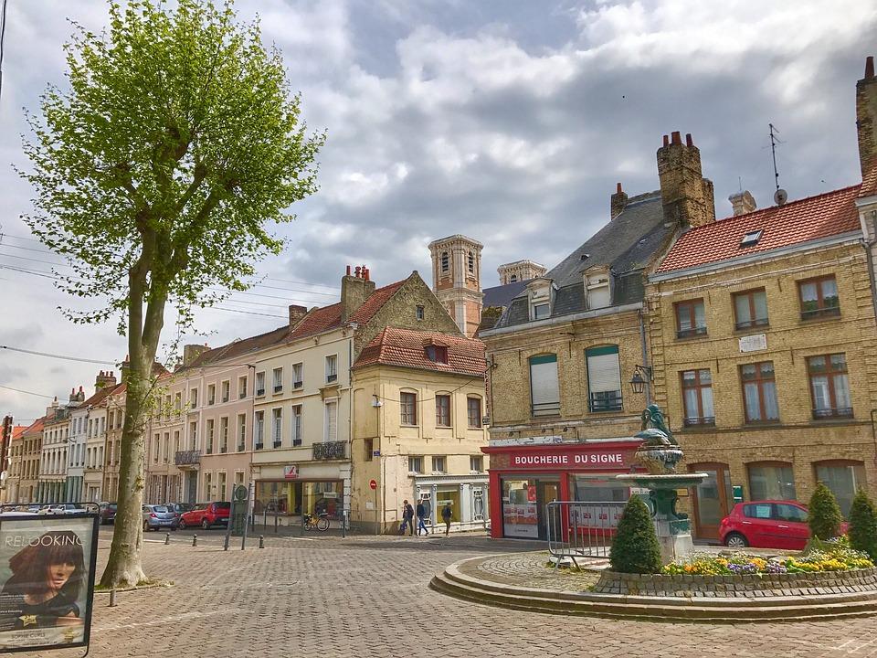 Village, Saint-omer, France, Street, Architecture