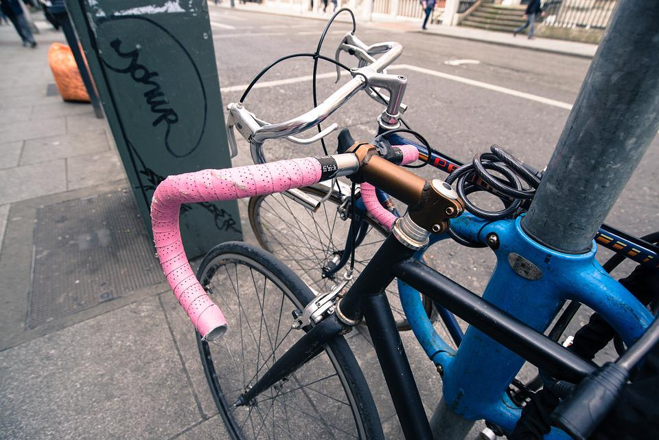 Racing, Bicycle, Parked, Street, Race, Bike, Sport