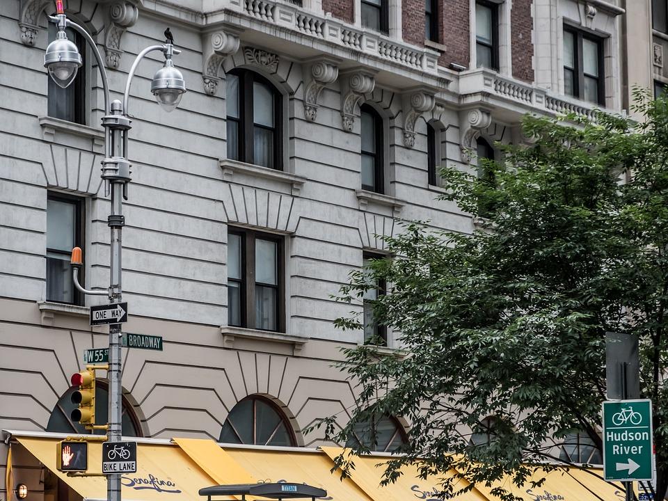 Free photo Street Street Lamp Broadway New York Facade - Max