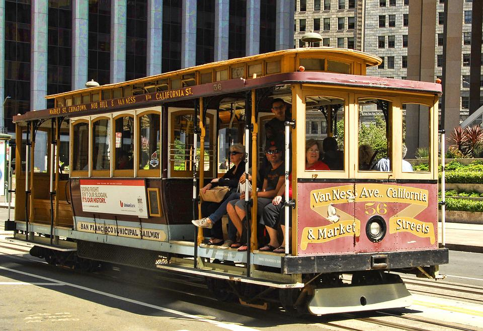 Tram, Tramway, Travel, Street, Cable Car