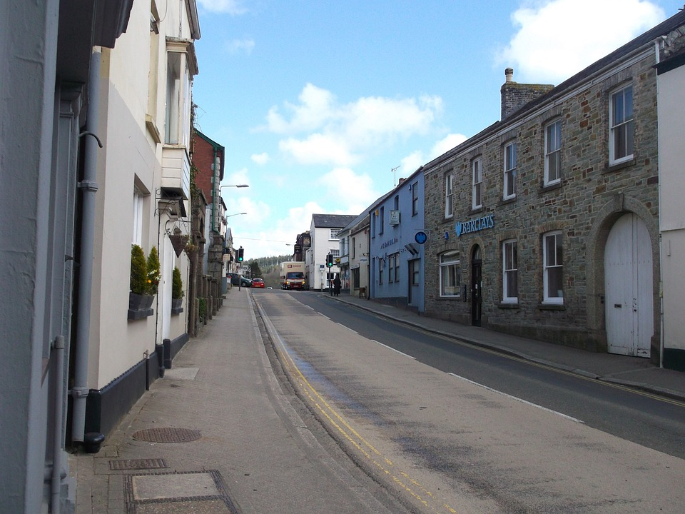 Lostwithiel, Cornwall, United Kingdom, Street