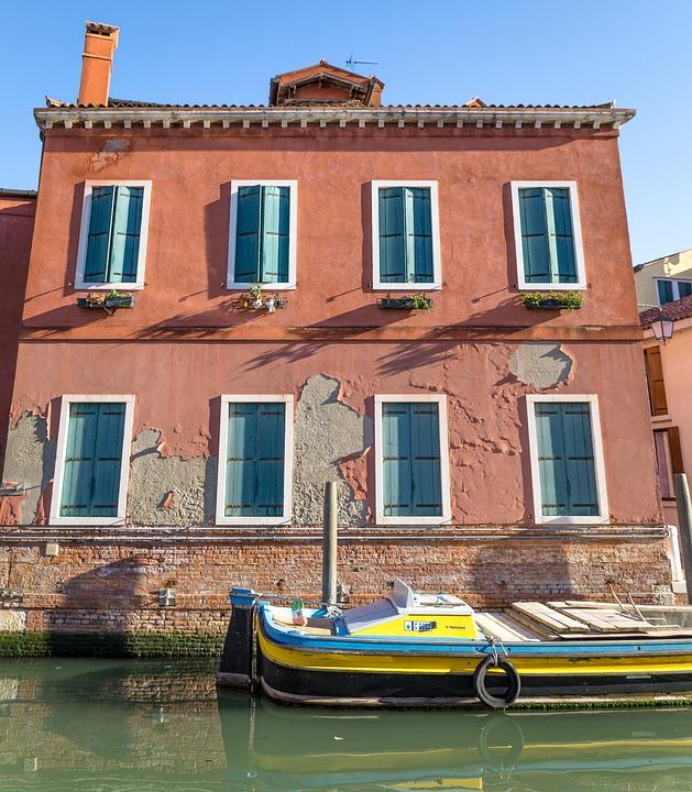 Venice, Street, Water, Italy
